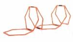 Sveltus trainingsladder hexagonale ringen 6 stuks