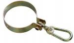 Swing King schommelhaak rond Ø120 mm verzinkt geel