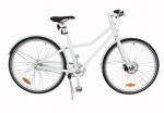 TOM Damesfietsen City Bike Deluxe 28 Inch 48 cm Unisex 2V Terugtraprem Wit
