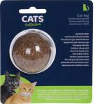 Cats Collection kattenspeeltje bel 5 cm kattenkruid bruin