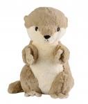 Warmies warmteknuffel Otter 38 cm bruin