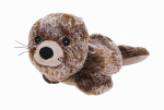 Warmies warmteknuffel zeehond 31 cm bruin