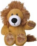 Welliebellies opwarmknuffel leeuw 20 cm bruin