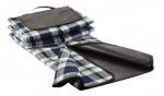 XD Collection picknickkleed opvouwbaar 150 cm acryl donkerblauw