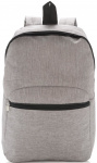 XD Collection rugzak classic 10 liter polyester zilvergrijs