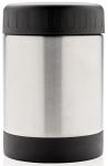 XD Design voedselcontainer 0,3 liter RVS/polypropyleen zilver